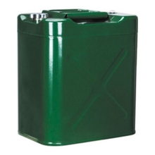 30 vertical petrol oil jerry can with plastic oil spout