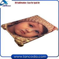 good prices 3D sublimation smart cover for ipad Air/ipad 5,sublimation flip cover,sublimation tablet cover
