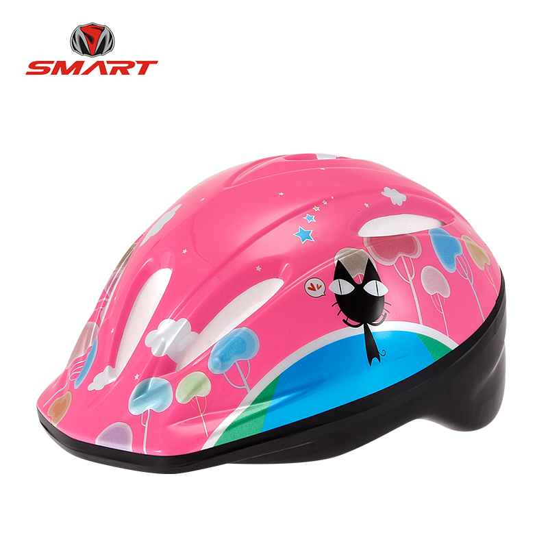 Hot sale custom pvc bike skate helmet smart bike helmet