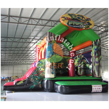 Pirate bouncer house with slide high quality commercial jumping castle