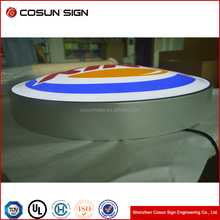 Hight brightness LED modules outdoor double sided led light boxes