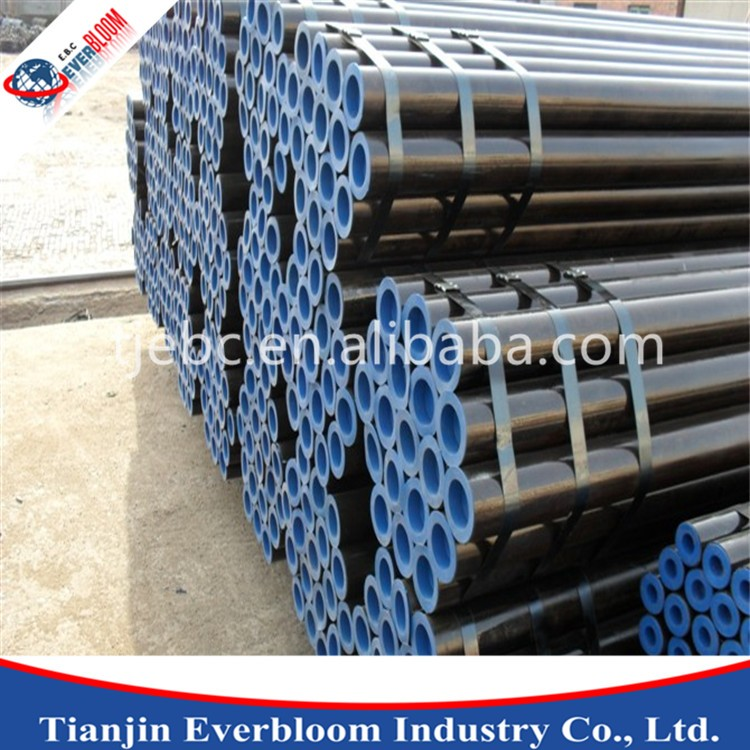 China top ten selling astm grade b steel pipe / din 2448 st35.8 seamless carbon steel pipe / schedule 40 steel pipe roughness