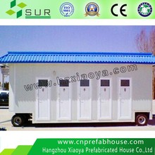 Custom Stainless steel mobile portable toilets for sale