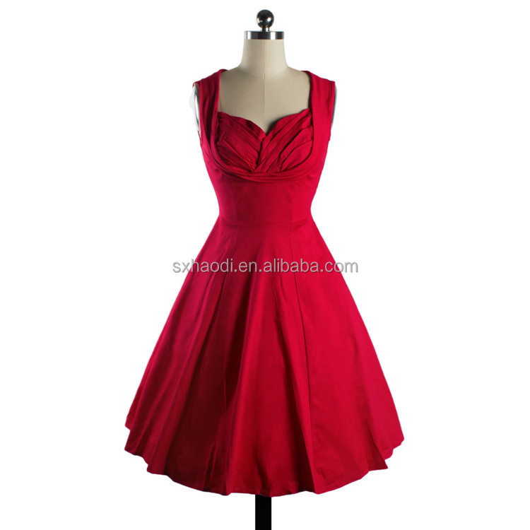 Wholesale pinup clothing 50's dresses retro vintage style prom bridal swing dance dress for women