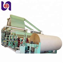 1575mm high speed kraft paper bag paper making machine, waste recycled paper manufacturing carton rolls line