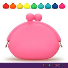 Promotional Cheap silicone purse wallet/ silicone coin purse/new product design jelly bags handbags fashion