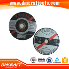 cutting and grinding wheel/ disc for metal/stone/stainless steel
