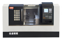 LS-40S Twin Spindle And Twin Turret CNC Lathe Machine