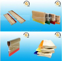 urethane rubber squeegee/Scraper blade,rubber squeegees