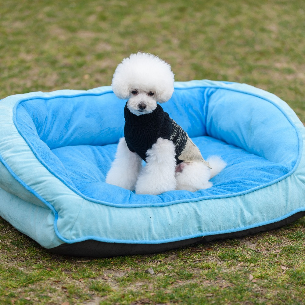 Premium cotton bed for dog padded Pet Bolster Bed