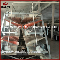 Rabbit Farming Cage, Industrial Rabbit Cages, Wire Rabbit Cages for Sale