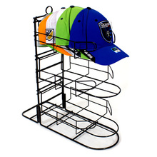 Stylish Hat Display Rack Metal Floor Stand stylish Cap display rack