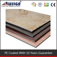 Alusign strong points working glass facade frp exterior wall panels acm