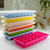Square Shape Mould Baby Food Storage Container, Silicone Ice Cube Tray With Lid