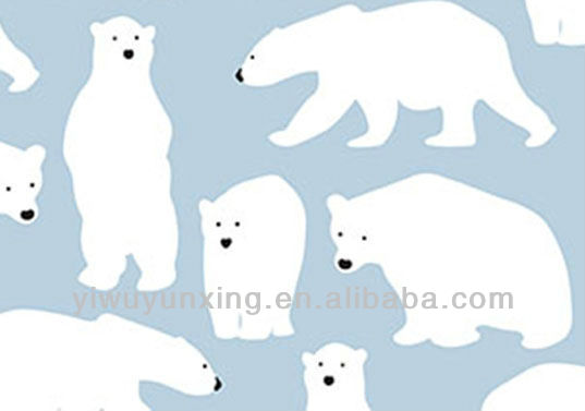 80g bear wrapping paper