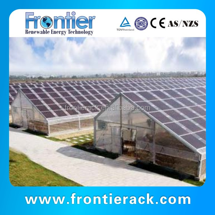 2016 new PV system solar agricultural greenhouse frame