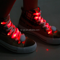 new arrival 2015 light up led funky shoelaces novelty shoe laces for party
