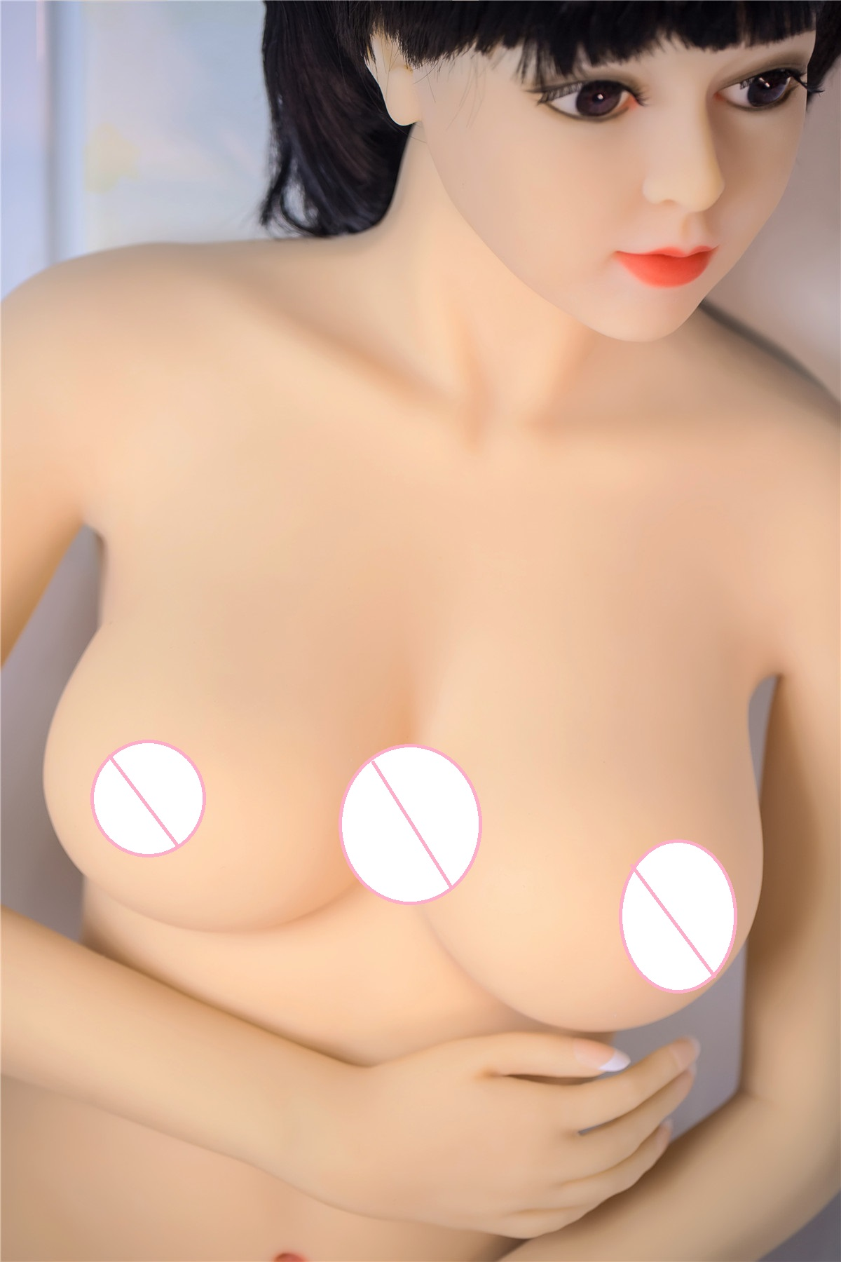 132cm Realistic real doll fat silicone sex doll for men