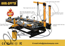 china OUR-SPEED Accident damaged car straightening bench OS-HD3000D