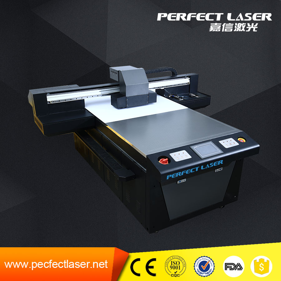 1015 Digital flat bed LED lamp small format uv flatbed printer price