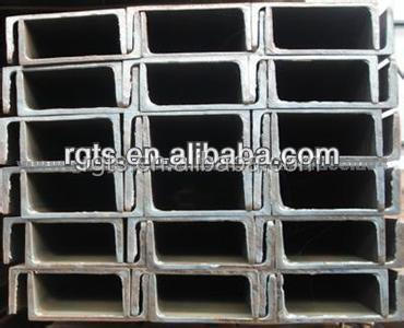 Wholesale alibaba online shopping steel channel/iron steel building materials prices