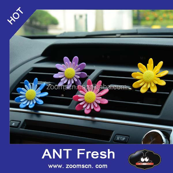 plastic flower car deodorant