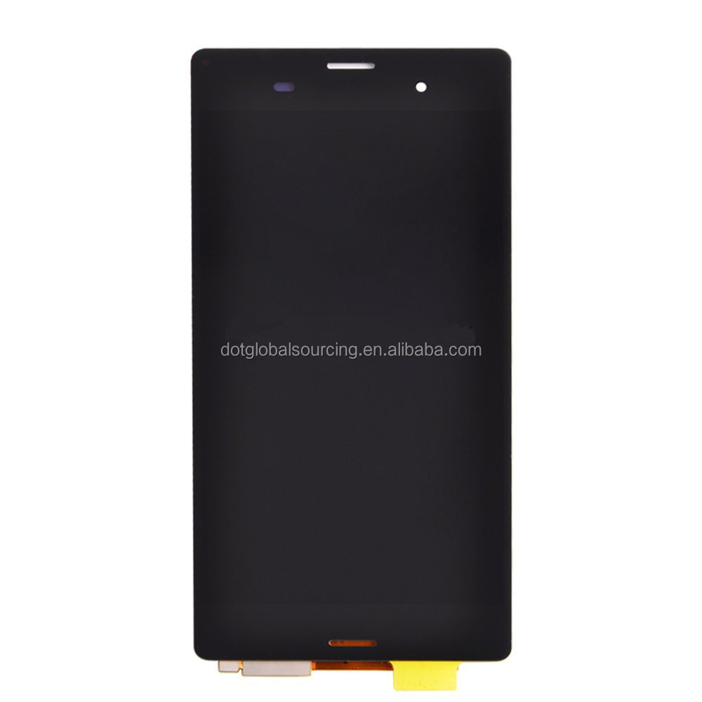 100% Tested White Black LCD Display Screen Touch Digitizer Assembly For Sony Xperia Z3