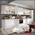 Ninety degree modern household PVC kitchen cabinet