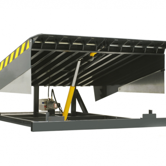 Hot sale cargo container unloading hydraulic lift ramps