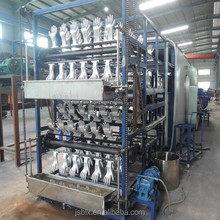 glove machine rubber glove with cotton material inside production line