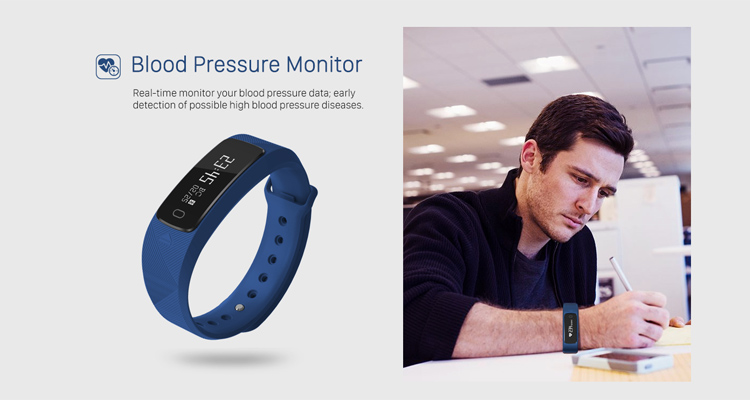 Best Selling Nordic Sport Water Resistant Bluetooth Smart Bracelet For Android Ios Blood Pressure Monitor