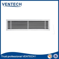 Ceiling linear bar grille,supply air vent register