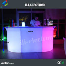 commercial event furniture led mobile bar counters