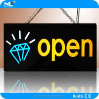 Super bright LED neon open closed sign Customized sign(CE ,UL, ROHS)