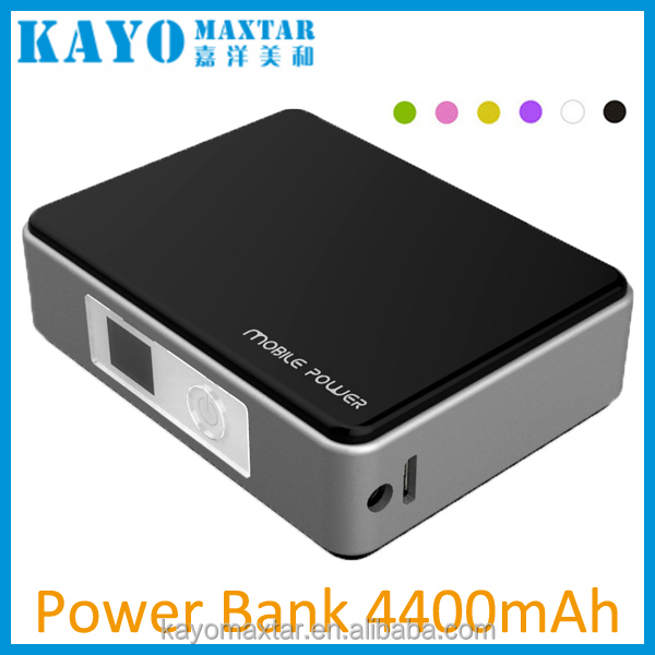 Hot sale ICR18650 2600mAh 3.7V battery usb mobile 5200mAh power bank