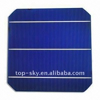 3BB 156x156mm Monocrystalline solar cells for sale,3 busbars Solar Cell with Taiwan Brand A grade