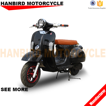 HANBIRD 2 Wheel Standing Motorcycle Scooter for Adults