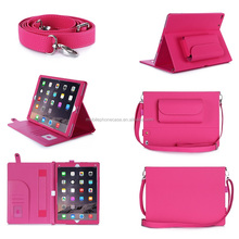 2016 Hot Products Tablet Case For iPad Pro 12.9 inch Tablet With Shoulder Strap Beauty