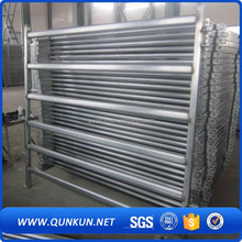 qunkun heavy duty hot dipped galvanized horse panels /metal livestock field farm fence gate for cattle or horse