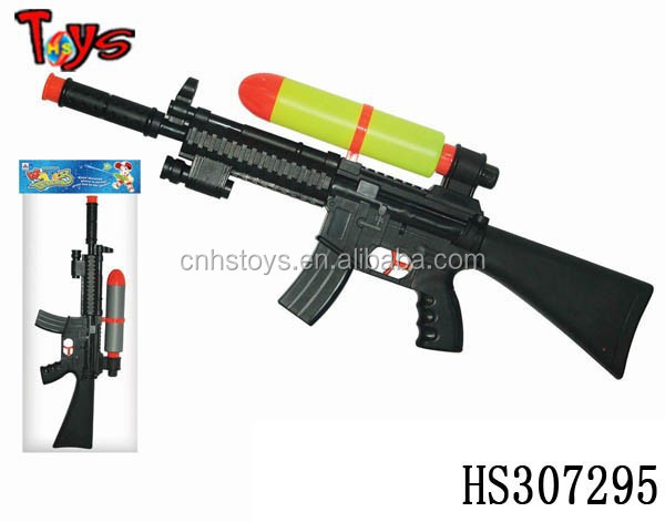 summer outdoor game best toy big black plastic water <strong>gun</strong>