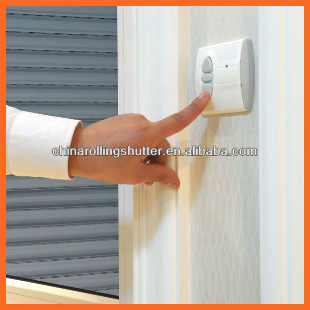 Roller Doors Product : Aluminum roller shutter window electric rolling shutters