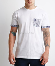 Factory direct wholesale t-shirt 95 cotton /5 elastane t-shirt