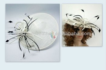 BY-T19 Sinamay Fascinators Hat