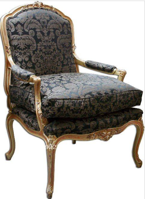 Louis XV Era Beautiful Handcrafted Carved Wood Chairs