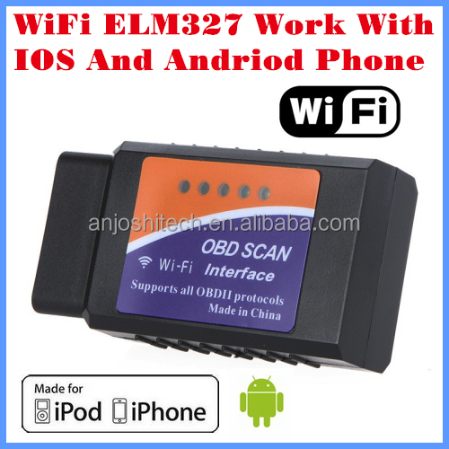 ELM327 Auto Car Diagnostic Scanner Scan Tool for iPhone for Android WIFI OBD2 OBDII Adapter Car Code Reader
