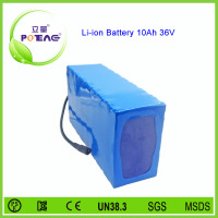 26650 lithium iron phosphate battery 36v 10ah
