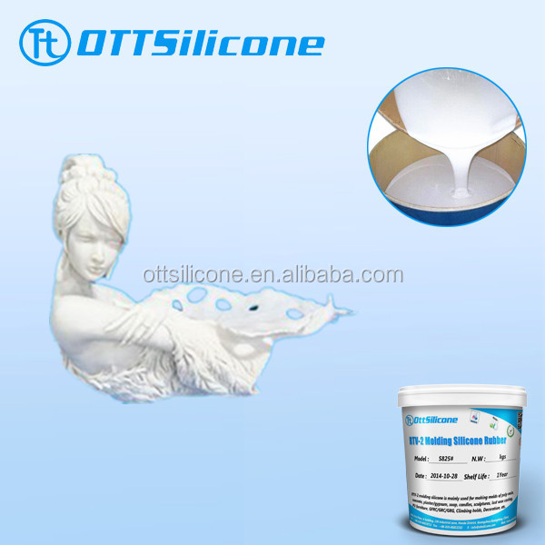 Room temperature cure rtv2 rubber liquid medical grade silicone