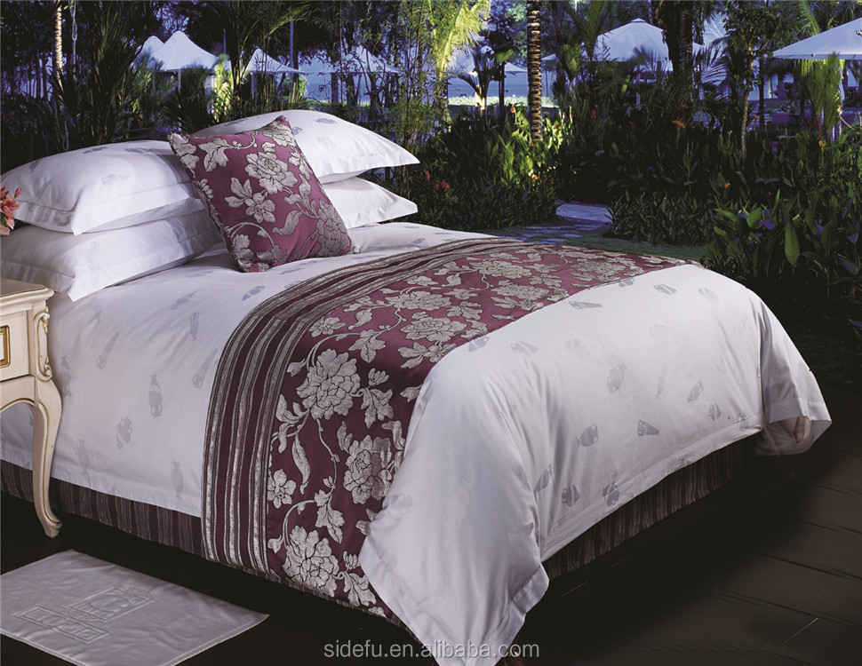 Luxury 100% Cotton Jacquard Hotel Cheap Duvet Cover Set
