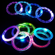 led flashing bangle bracelet, concert flashing bangle