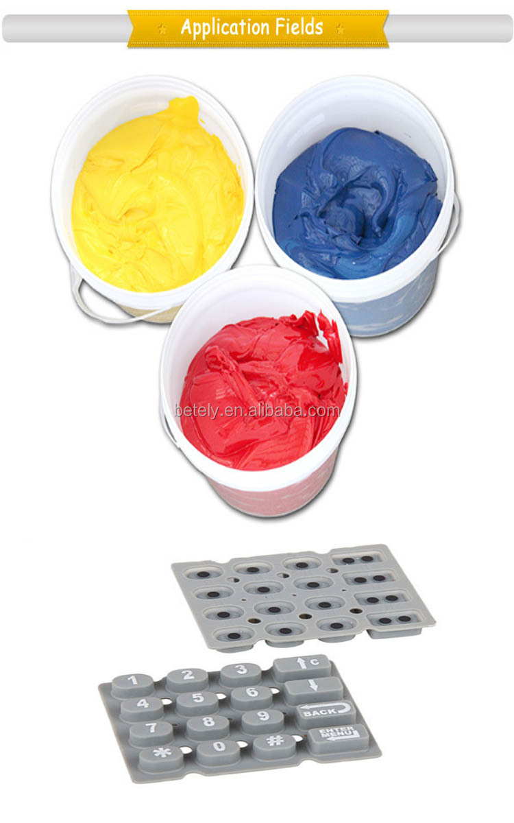 Nice Friction Resistance Silicone Printing Ink With Best Price And High Quality Silicone Printing Ink